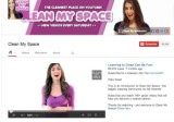 Screen shot Clean My Space YouTube channel