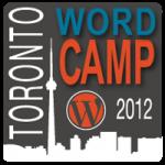 Word Camp Toronto 2012