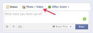 Facebook share window