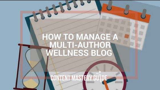 calendar tools multi-author blog
