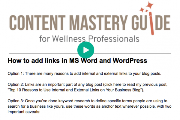 How to Add the Best Links to a Blog Post
