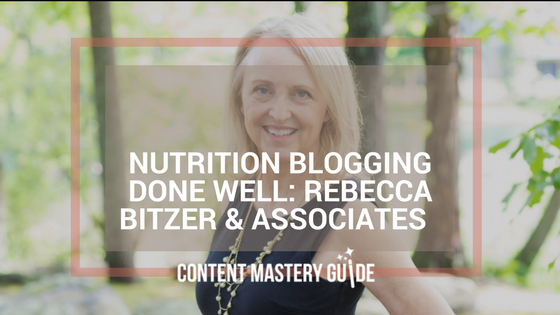 Nutrition Blogging Done Well: Rebecca Bitzer & Associates – The REBEL Dieticians