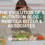 The Evolution of a Nutrition Blog – Rebecca Bitzer & Associates